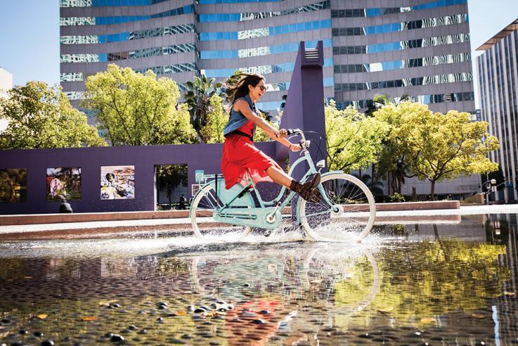城市自行车,享受都市生活