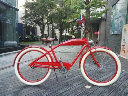 男士城市自行车