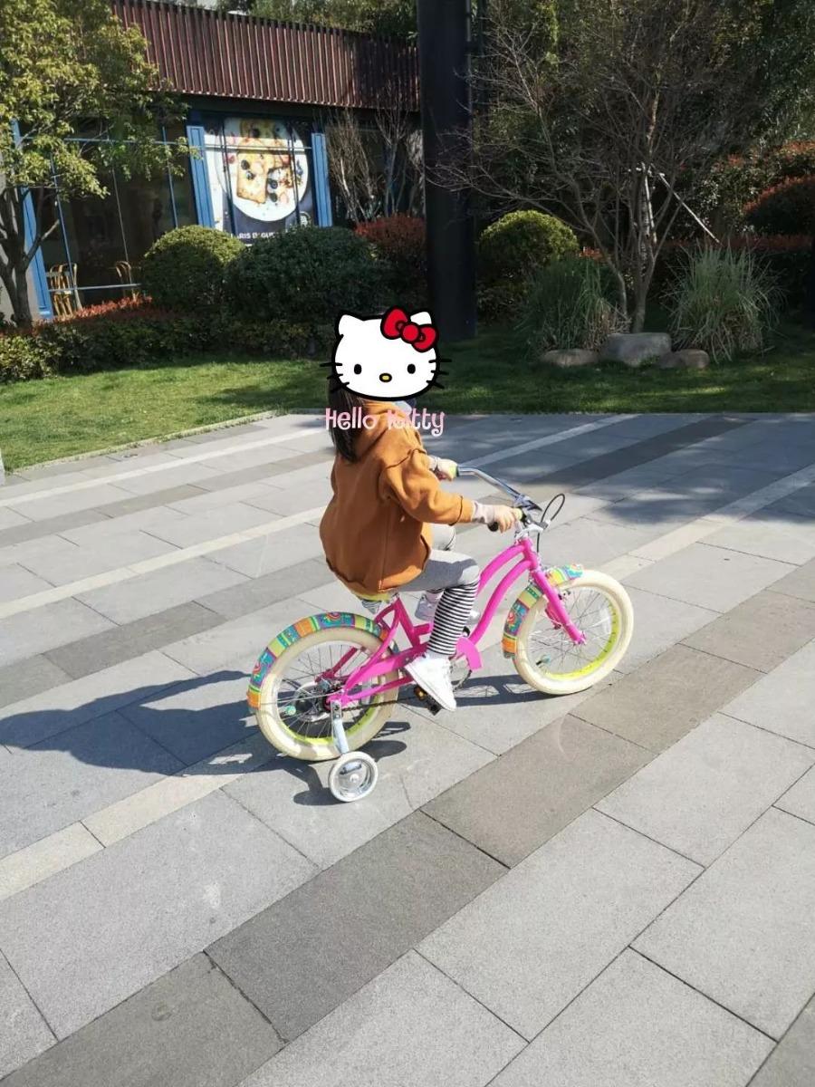 试骑自行车