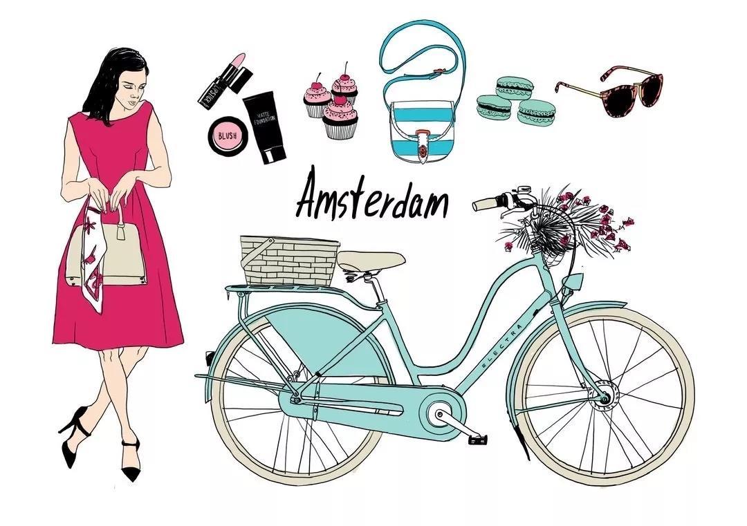 女士自行车