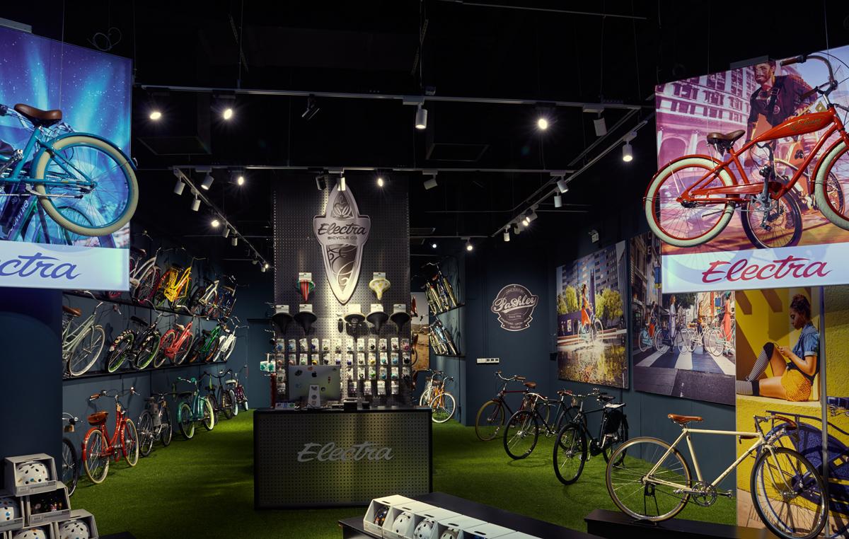 城市骑行自行车