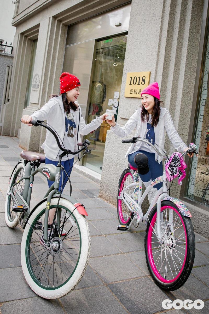 女士休闲自行车