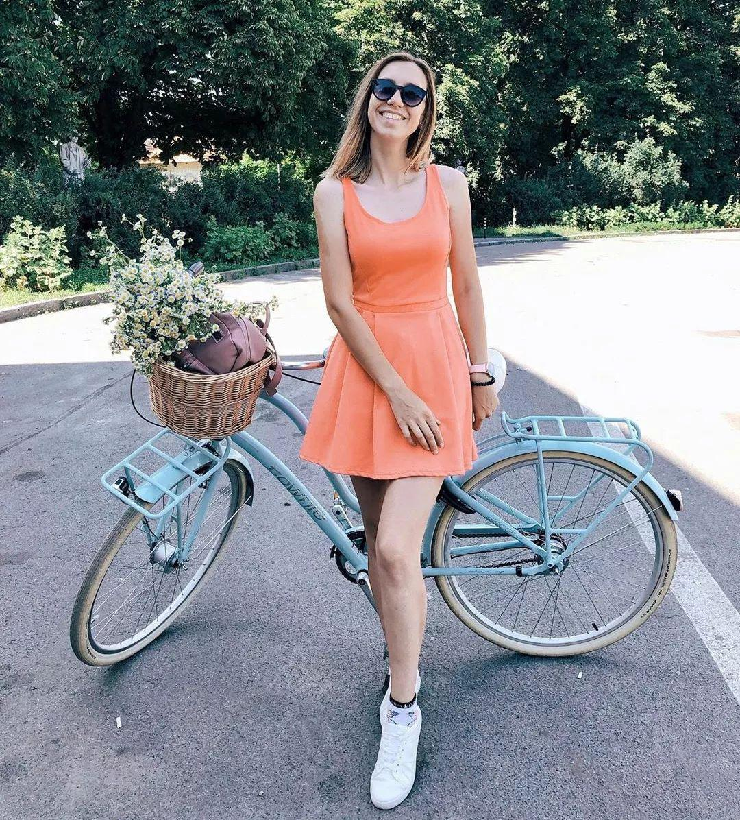 休闲自行车