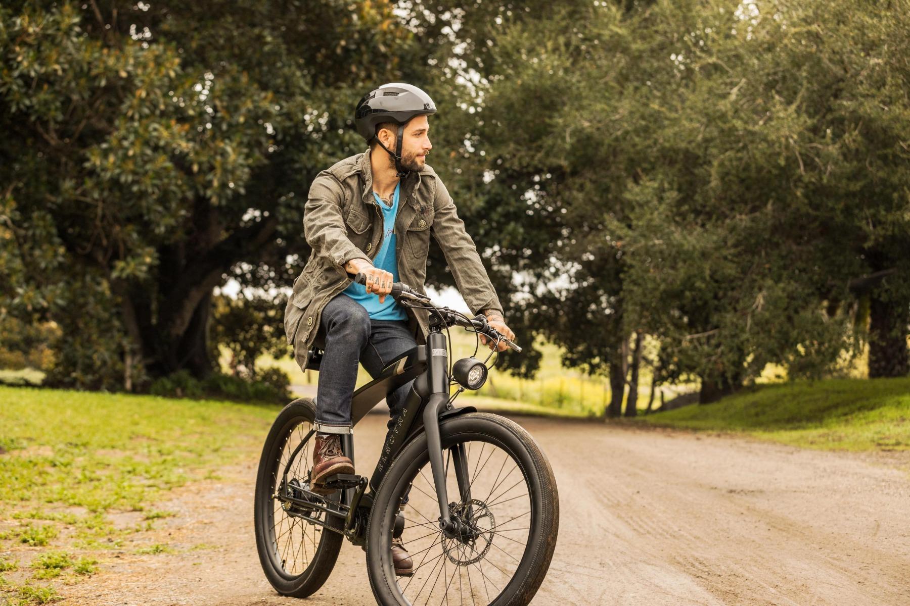 高端电助力自行车