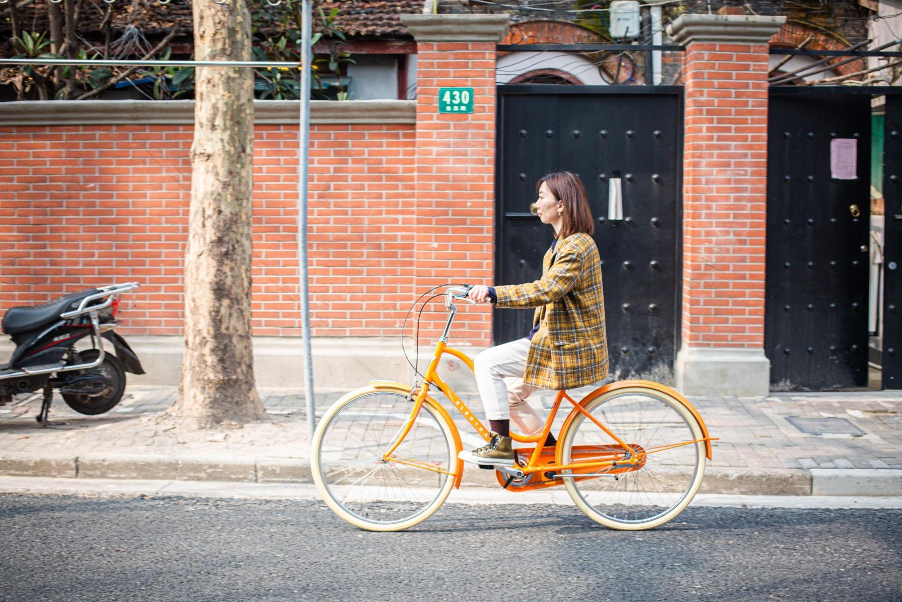 休闲自行车品牌