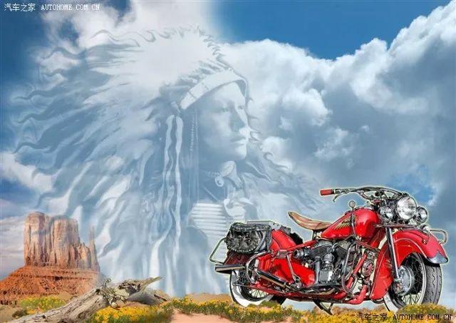 Indian哈雷摩托