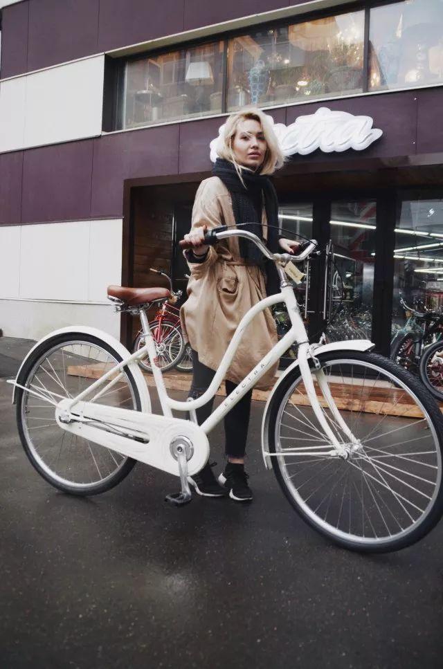 Amsterdam复古欧式自行车